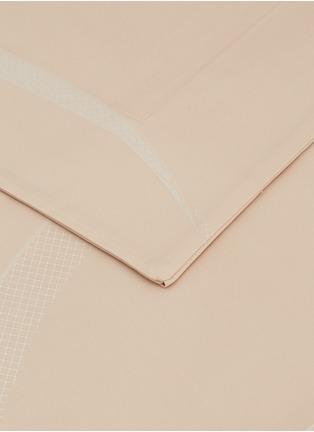 Detail View - Click To Enlarge - FRETTE - Ribbons king size duvet set –Powder Pink