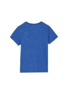 Wee Monster 'Rawr' slogan graphic appliqué kids T-shirt