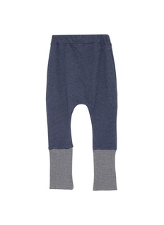 Wee Monster Contrast cuff kids jogging pants