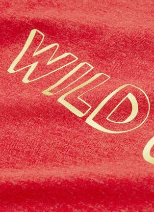 - WEE MONSTER - 'Wild One' slogan print kids T-shirt