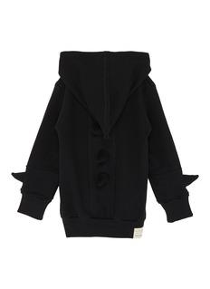 Wee Monster Monster spike kids zip hoodie