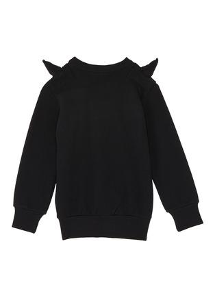 Figure View - Click To Enlarge - Wee Monster - Slogan print monster spike kids sweatshirt