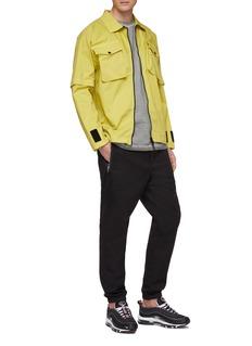 Stone Island Detachable sleeve chest pocket shirt jacket