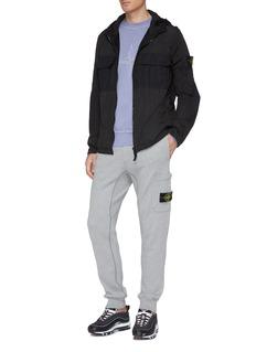Stone Island Chest pocket hooded Nylon Metal Watro ripstop jacket