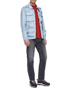 Stone Island Flap pocket canvas shirt jacket