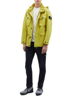 Stone Island Retractable hood David-TC field jacket