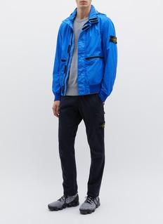 Stone Island Retractable hood Membrana 3L TC jacket