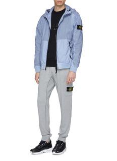 Stone Island Hooded Lamy Velour jacket
