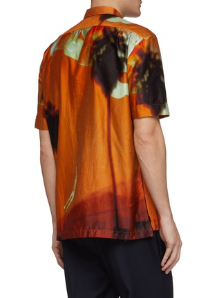 Back View - Click To Enlarge - PAUL SMITH - 'Paul's Photo' print short sleeve shirt