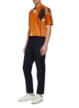 Figure View - Click To Enlarge - PAUL SMITH - 'Paul's Photo' print short sleeve shirt