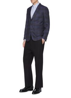 Paul Smith 'Soho' tartan plaid wool blend blazer