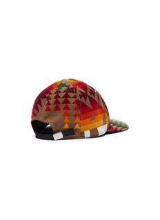 sacai x Pendleton geometric print corduroy baseball cap