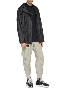 Y-3 Tapered cropped cargo jogging pants