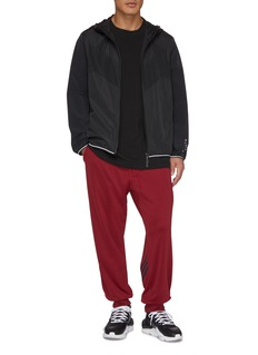 Y-3 3-Stripes logo print cuff jogging pants