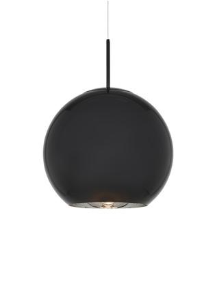 Main View - Click To Enlarge - TOM DIXON - Copper large round pendant light – Black