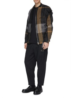 Ziggy Chen Linen-cotton jogging pants