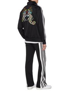 adidas 'Firebird' 3-Stripes sleeve logo graphic track jacket