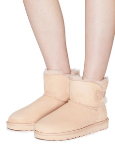 UGG 'Mini Bailey Button II' button cuff ankle boots