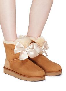 UGG 'Gita Bow Mini' ribbon boots