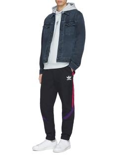 Adidas 3-Stripes sleeve hoodie