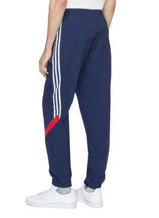 Back View - Click To Enlarge - Adidas - 'Sportive' stripe outseam track pants