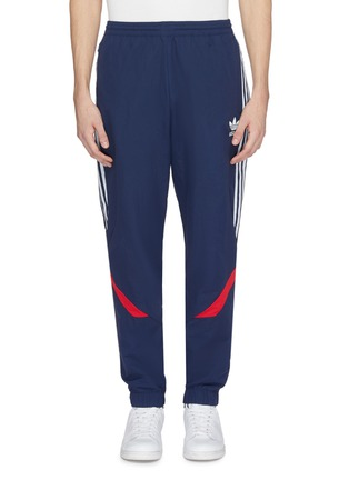 Main View - Click To Enlarge - Adidas - 'Sportive' stripe outseam track pants