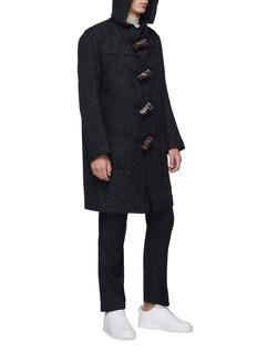Matthew Miller Wool melton hooded duffle coat
