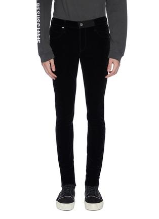 Main View - Click To Enlarge - RtA - Velvet skinny pants