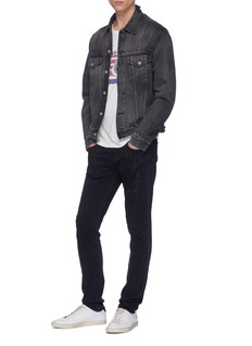 J Brand 'Mick' paint smear skinny jeans