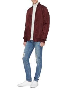 J Brand 'Mick' rip and repair skinny jeans