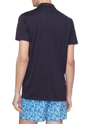 Back View - Click To Enlarge - DANWARD - Jersey polo shirt