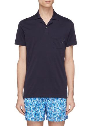 Main View - Click To Enlarge - DANWARD - Jersey polo shirt