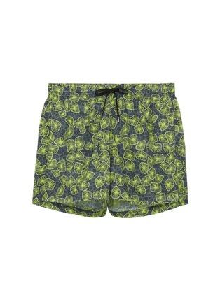 Main View - Click To Enlarge - DANWARD - 'Capri' jellyfish print swim shorts