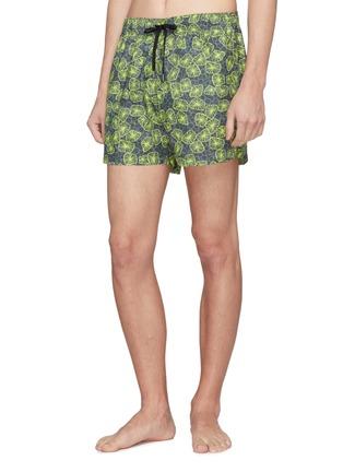 Figure View - Click To Enlarge - DANWARD - 'Capri' jellyfish print swim shorts