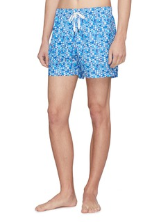 DANWARD 'Capri' geometric print swim shorts