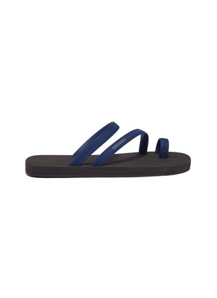Main View - Click To Enlarge - DANWARD - Toe ring strappy flip flops