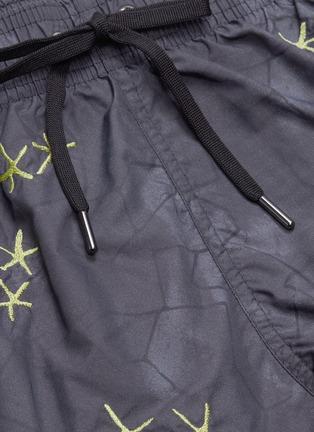 - DANWARD - 'Capri' starfish embroidered swim shorts