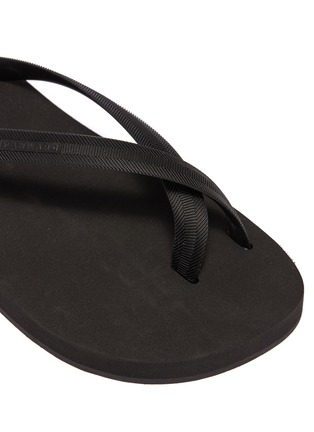 Detail View - Click To Enlarge - DANWARD - Cross strap flip flops