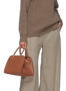 The Row 'Margaux 10' leather satchel bag