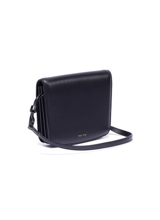 Detail View - Click To Enlarge - THE ROW - 'Julien' leather crossbody bag