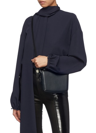 Figure View - Click To Enlarge - THE ROW - 'Julien' leather crossbody bag