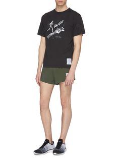 Satisfy 'Guitar Moth Eaten' photographic print T-shirt