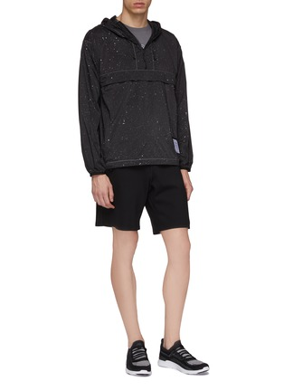 Figure View - Click To Enlarge - SATISFY - 'Spacer' Tecnospacer™ sweat shorts