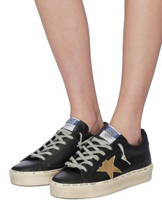 Golden Goose 'Hi Star' leather flatform sneakers