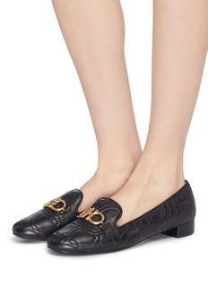 Salvatore Ferragamo 'Alvano' quilted leather loafers