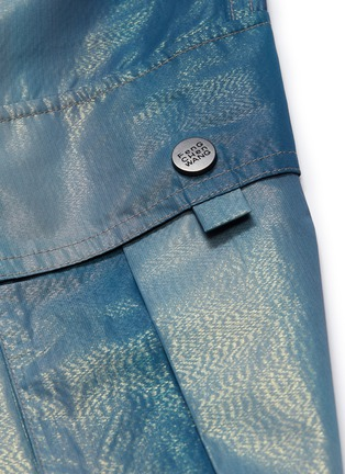 - Feng Chen Wang - Metallic cargo jogging pants