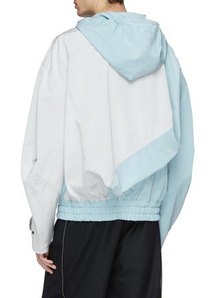 Back View - Click To Enlarge - Feng Chen Wang - Colourblock hooded jacket