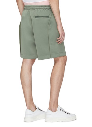 Back View - Click To Enlarge - Feng Chen Wang - Snap button side pleated shorts