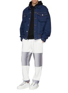 Feng Chen Wang x Levi's® colourblock denim trucker jacket