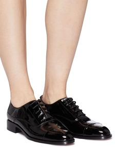 Pedder Red 'Scout' patent leather Oxfords
